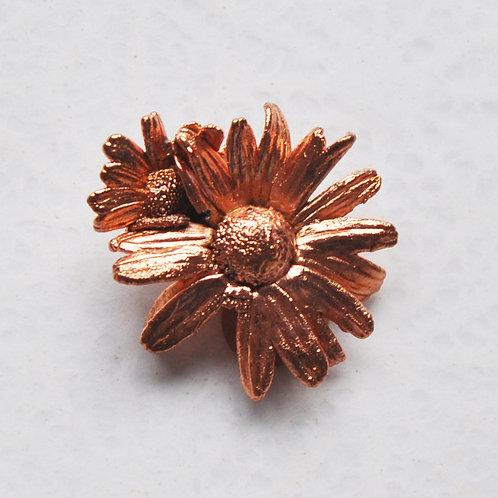 Fleur de camomille, pâquerette   broche