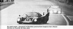RONDEAU - Victoire au Mans 80