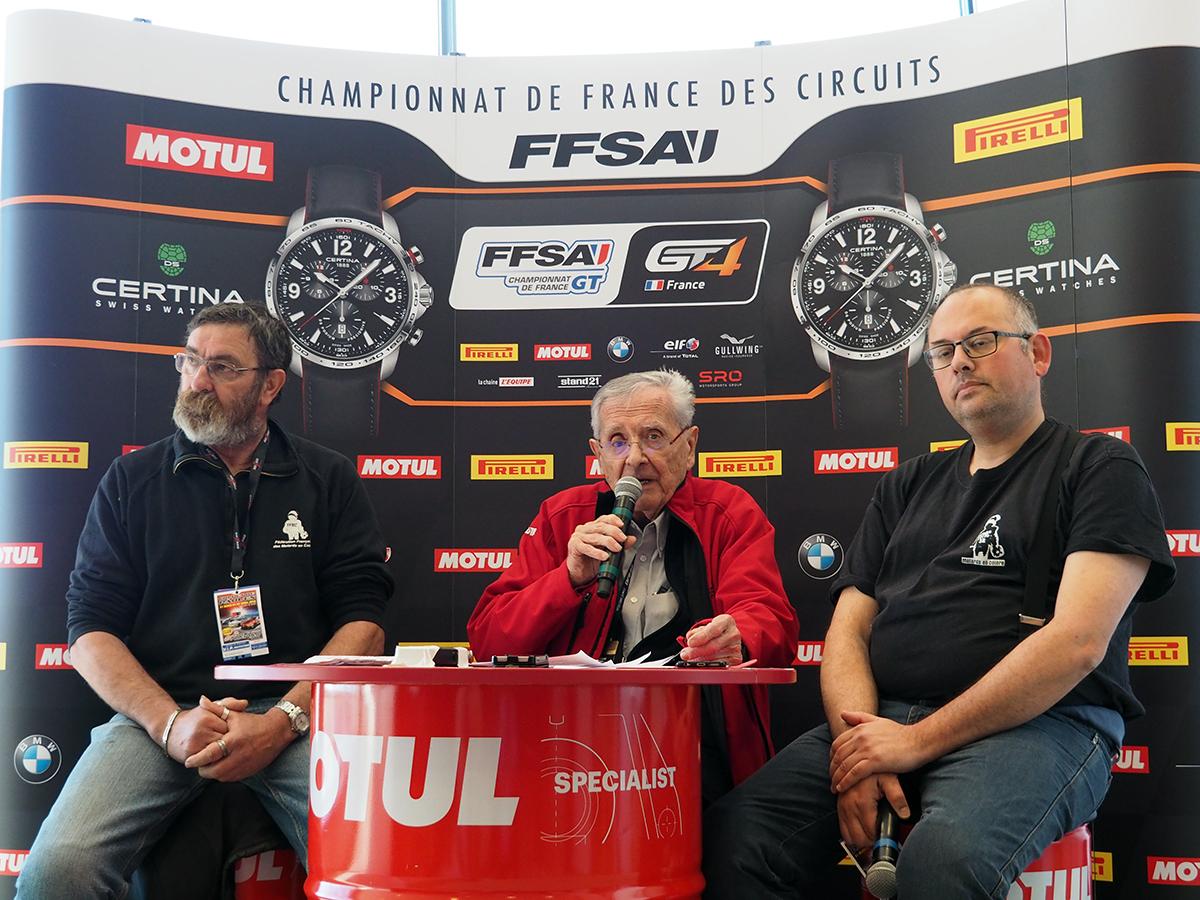 Christophe Milliot, André Diviès et Patrick Caquin - © JL Taillade