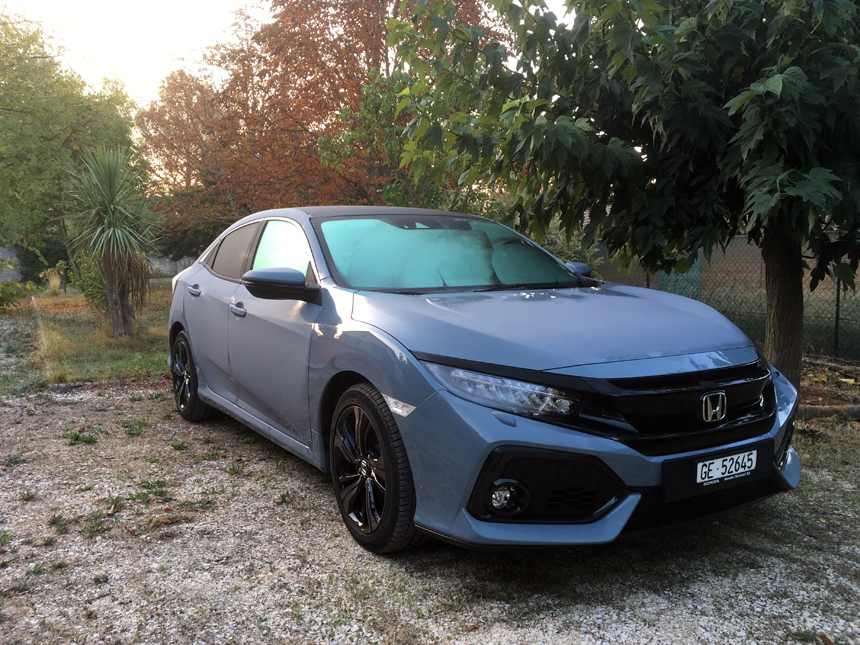 Honda Civic 1.0 Turbo ©JL Taillade