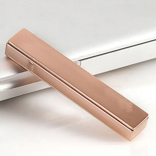 Kit Briquet Électronique USB Rechargeable en Aluminium HY879