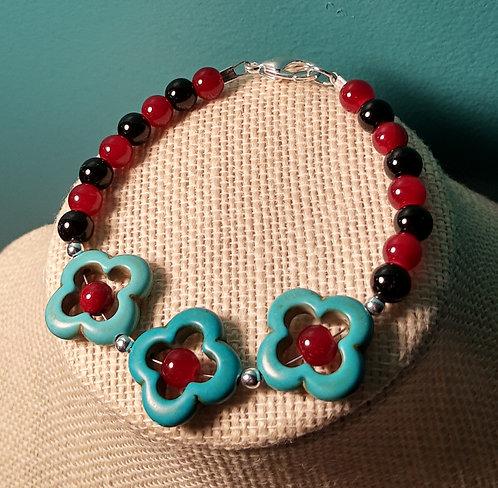 Turquoise Pendant Bracelet