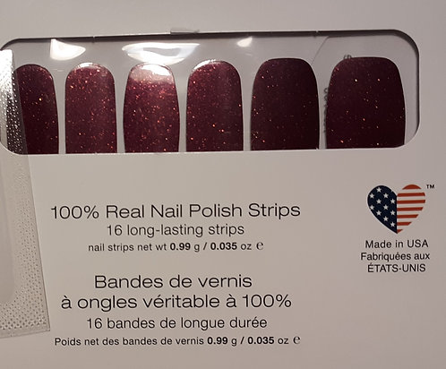 One Set of Color Street Nail Polish Strips