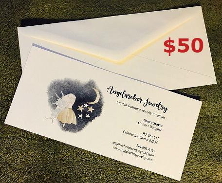$50 Angelarcher Jewelry Gift Certificate