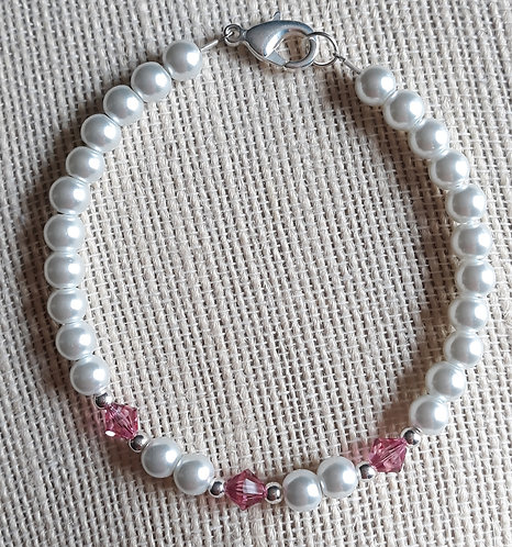 October Birthstone Bracelet - Custom