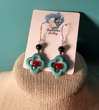 945 - turq red eargs.jpg