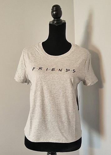 FRIENDS  Slim-Fit Tee - Heather Gray (JR XS-SM)