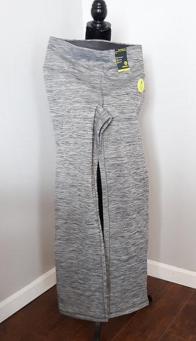 Gray Fleece-Lined Quick-Dry Sweatpants
