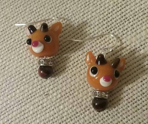 Holiday Reindeer Earrings
