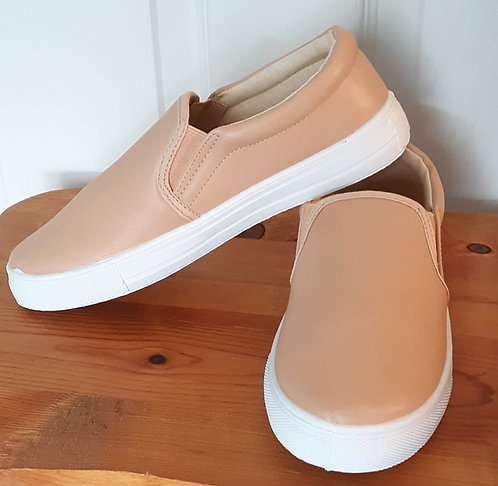Slip-On Sneaker - Nude