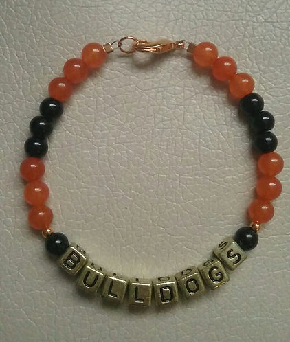 Team Spirit Bracelet - Waterloo Bulldogs