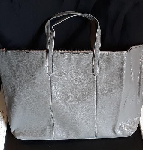 Gray Weekender Bag