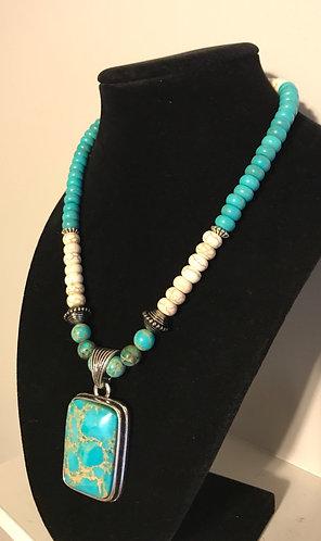 Imperial Jasper Pendant Necklace