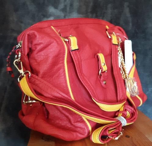 Red & Yellow Weekender Bag