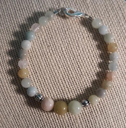 Morganite Bracelet - #753