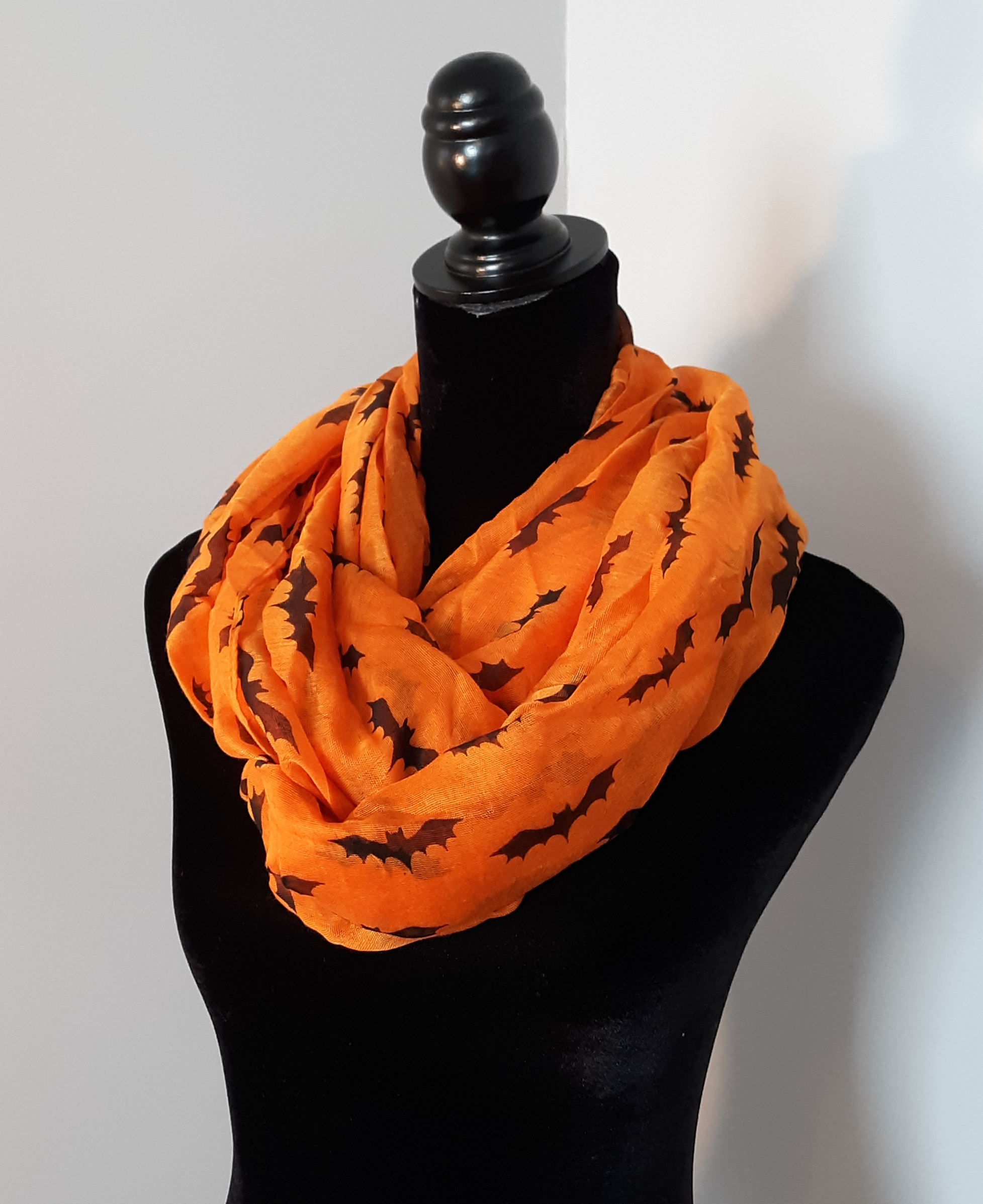 1627 - org bats scarf front