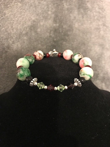 Watermelon Birthstone Bracelet
