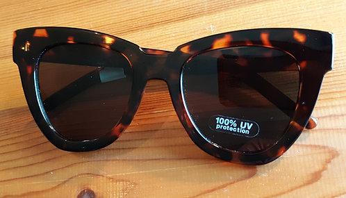 Chunky Tortoise Cat Eye Sunglasses