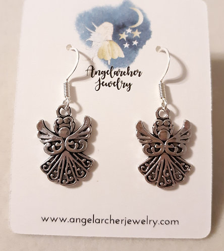 Angel Charm Earrings