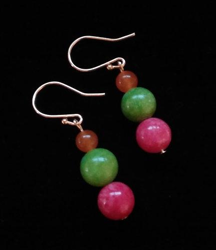 Rainbow Sherbet Earrings