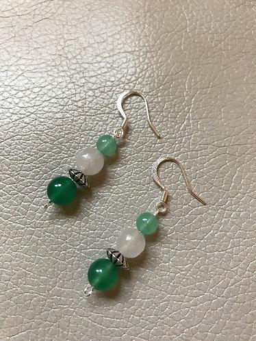 Green Aventurine Earrings