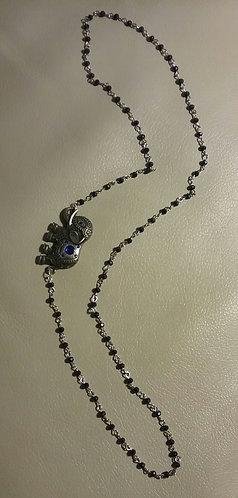 Elephant Side Pendant Necklace