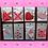 Thumbnail: Valentine Faux Leather Teardrop Earrings