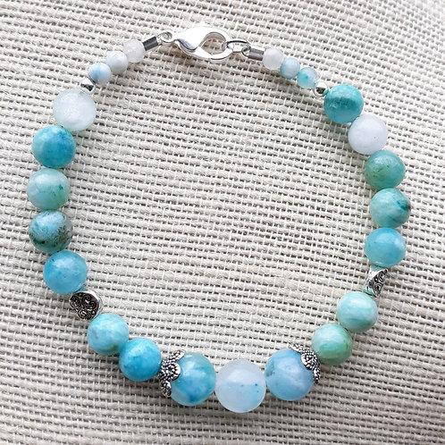 Light Blue Amazonite Bracelet