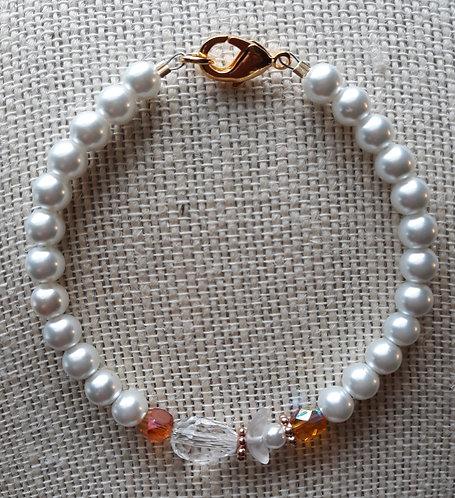 Crystal Angel Bracelet