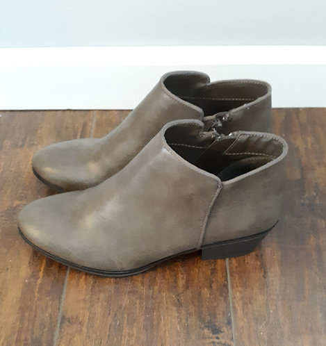 Mossy Taupe Ankle Booties