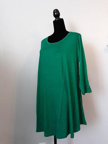 Green Swing Tunic – 2X
