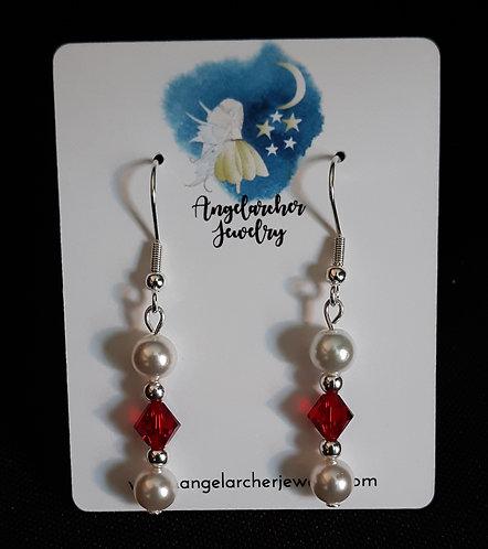 Swarovski Crystal Birthstone Earrings