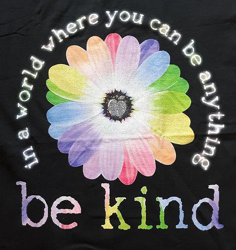 Be Kind Tee - Black - XL