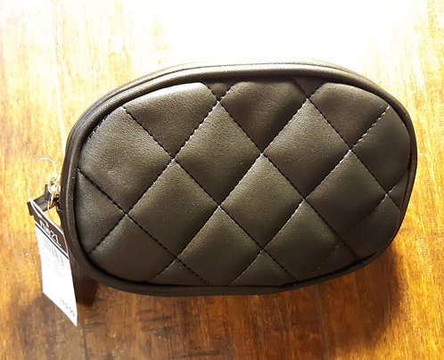 Quilted Fanny Pack - Black