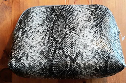 Snake Print Cosmetics Case