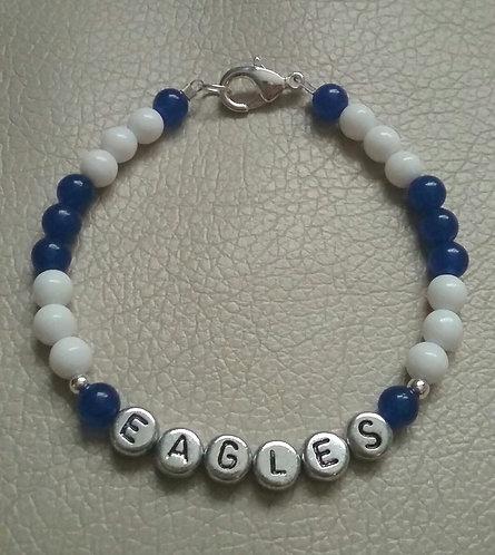 Team Spirit Bracelet - Columbia Eagles, Medium