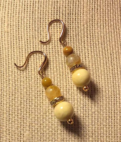 Amber Sunshine Earrings
