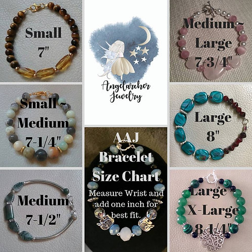 AAJ Bracelet Size Chart