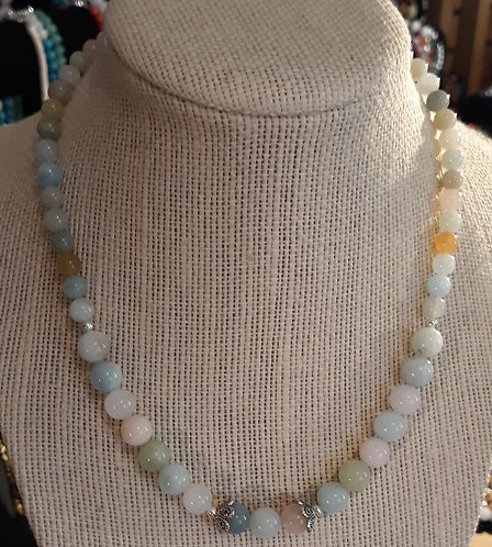 Morganite Choker Necklace