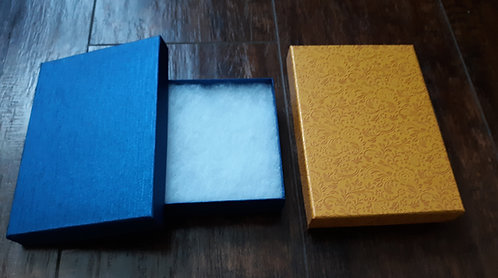 Blue Satin Gift Box
