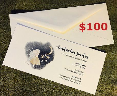 $100 Angelarcher Jewelry Gift Certificate