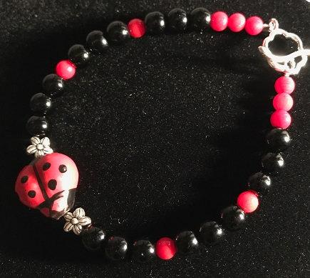 Lucky Ladybug Bracelet - Sz X-Large