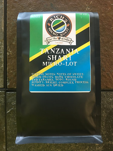 Tanzania SHARI MICRO-LOT 12oz    Light Roast