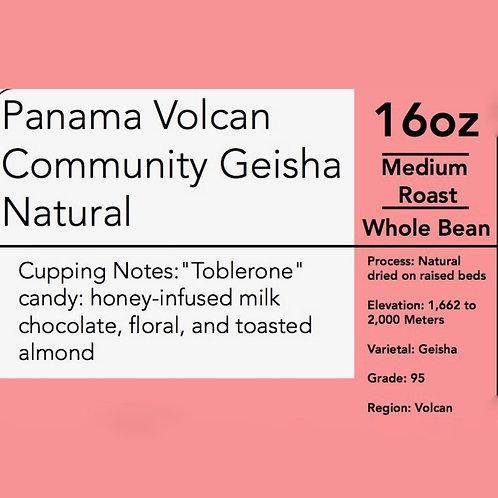 Panama Volcan Community Geisha  $62.50/ 16oz  5lbs $300.00