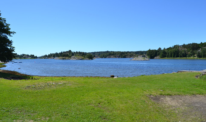 Utsikt mot Mefjorden