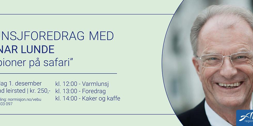 Lunsjforedrag med Einar Lunde - AVLYST