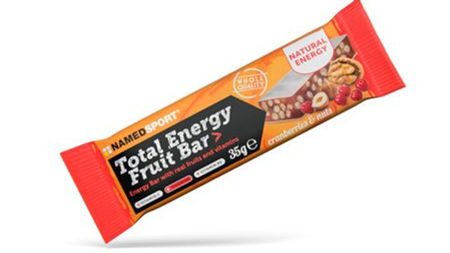 NAMEDSPORT TOTAL ENERGY FRUIT BAR - 35G - VEENBES & NOTEN