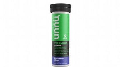 NUUN Vitamins Blackberry Citrus + Caffeine - sportdrank tablet
