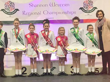 Success at the Shannon Western Regional Championships 2019!