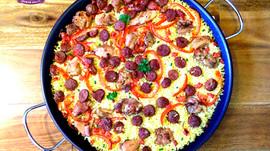 Yamo's Chorizo and Chicken Paella